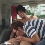 【ゲイ動画 xvideos】男優が街頭で素人ノンケを次々とナンパGET!トイレや車内でチンポをしゃぶり、ホテルで処女アナルを奪うw