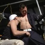 【ゲイ動画 xvideos】街の工事現場で働く汗まみれの作業員を思うがままに犯してみたい…そんな妄想を形にしたガテン系ゲイ動画