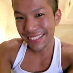 """【ゲイ動画 xvideos】元K-1ファイターの山本""""KID""""徳郁似のヤンチャそうな金髪男性がアナルファックされて響き渡る喘ぎ声!"""