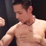 【ゲイ動画 xvideos】男優の先制攻撃に気持ち良くなったお返しにアナルに生でブチ込みガン掘りしまくるイケメン君の初タチプレイ
