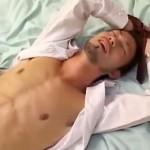 【ゲイ動画 pornhub】遅刻が原因でホモの先輩2人から性処理道具されてしまったノンケ新人サラリーマン!!