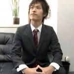 【ゲイ動画 pornhub】平成生まれのノンケイケメン新入社員がゲイ社長のいるブラック企業に就職してしまってアナル調教!!