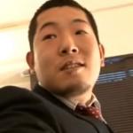 【ゲイ動画 pornhub】ガチポ気味の後輩リーマンのマッサージ付きご奉仕ファックを主観視点でお届け!!