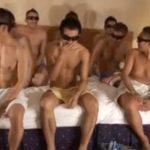 【ゲイ動画 pornhub】ヤラセなしのガチ企画!募集で集められた素人ゲイたちの酒池肉林乱交アナルファック大会!!