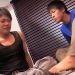 【ゲイ動画 pornhub】経験豊富な先輩の前に顔を赤らめるイケメン少年・・・純愛BLアナルファック!