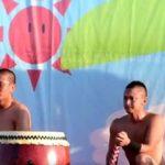 【twitter動画】ガチムチマッチョのお祭り男達が半裸で太鼓を叩きまくるw