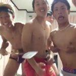 【twitter動画】素人ノンケ青年5人組が部屋でセクシーダンス