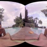 【VRゲイ動画】リゾートを満喫しに来たゲイカップルが誰も居ないビーチサイドで濃厚フェラw