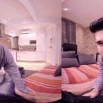 【VRゲイ動画】仕事が終わったらディナーを楽しみ自宅でイケメン彼氏とイチャつくw美形イケメンが目の前で映り続ける眼福作品w
