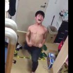 【twitter動画】朝から本気の「エッサッサ」を叫び出す20代男性w