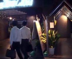 【ゲイ動画無料】仕事のストレスはセックスで解消!残業で残ってた先輩と会社から直でホテルに向かいスーツも脱がずに即結合!