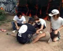 【ゲイ動画無料】過激になってくる少年性犯罪・・巷で問題になっているノンケ素人を狙った高校生ゲイ集団が実際にレイプしている際に撮影したハメ撮り動画・・