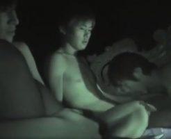 【無料ゲイ動画】掟破りの赤外線盗撮!素人ゲイ達が個人的に開催した乱交パーティで暗闇を利用しこっそりビデオを回しチンコを抜き差しする姿を隠し撮りw