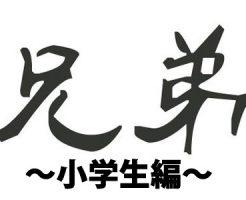 【ゲイ体験談】『兄と禁断の関係 小学生編』…読者投稿!はじめてのキス、そして射精初体験の相手は実の兄!