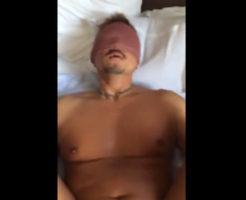 【無修正ゲイ動画】スマホで個人撮影されたガチムチ兄貴を生掘り調教ファックする本物素人ハメ撮りビデオ!