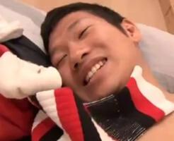 【ゲイ動画】匂いフェチカップルのフェロモンを味わう雄交尾+ヌルヌルローションマットプレイ!